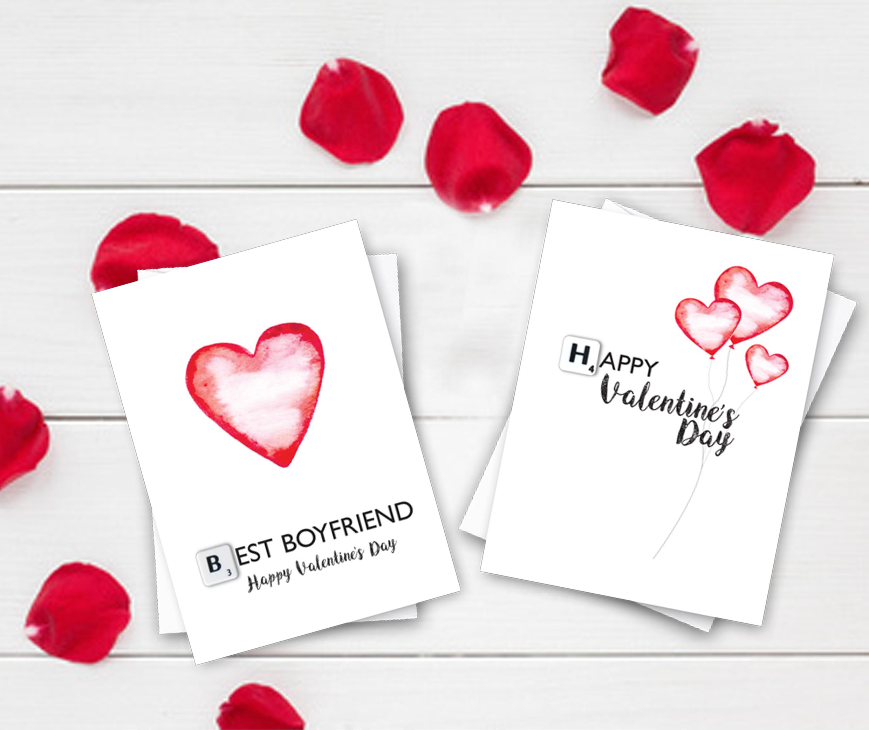 Scrabble Valentine's