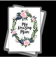Floral Amazing Mum