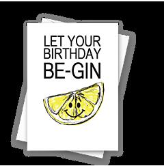 Birthday Be-Gin