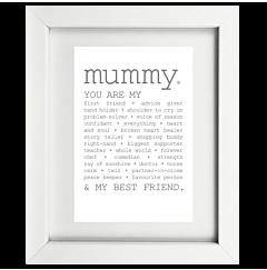 True Mummy Framed Print