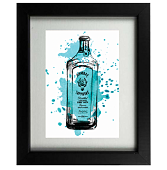 Bombay Sapphire Gin Frame
